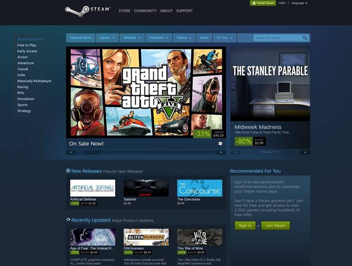 Cara Beli Game di Steam