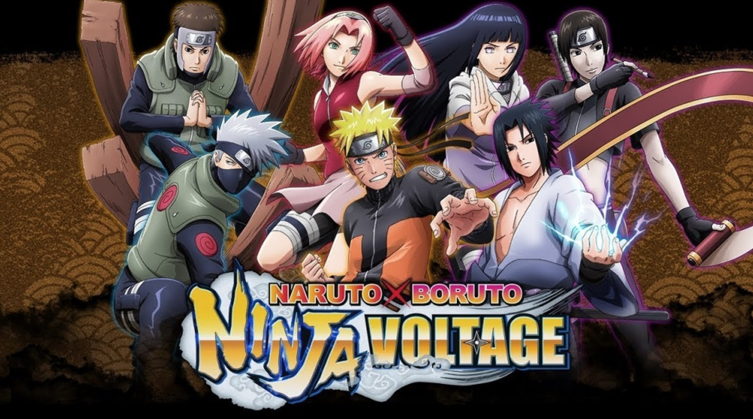 game anime naruto x boruto ninja voltage