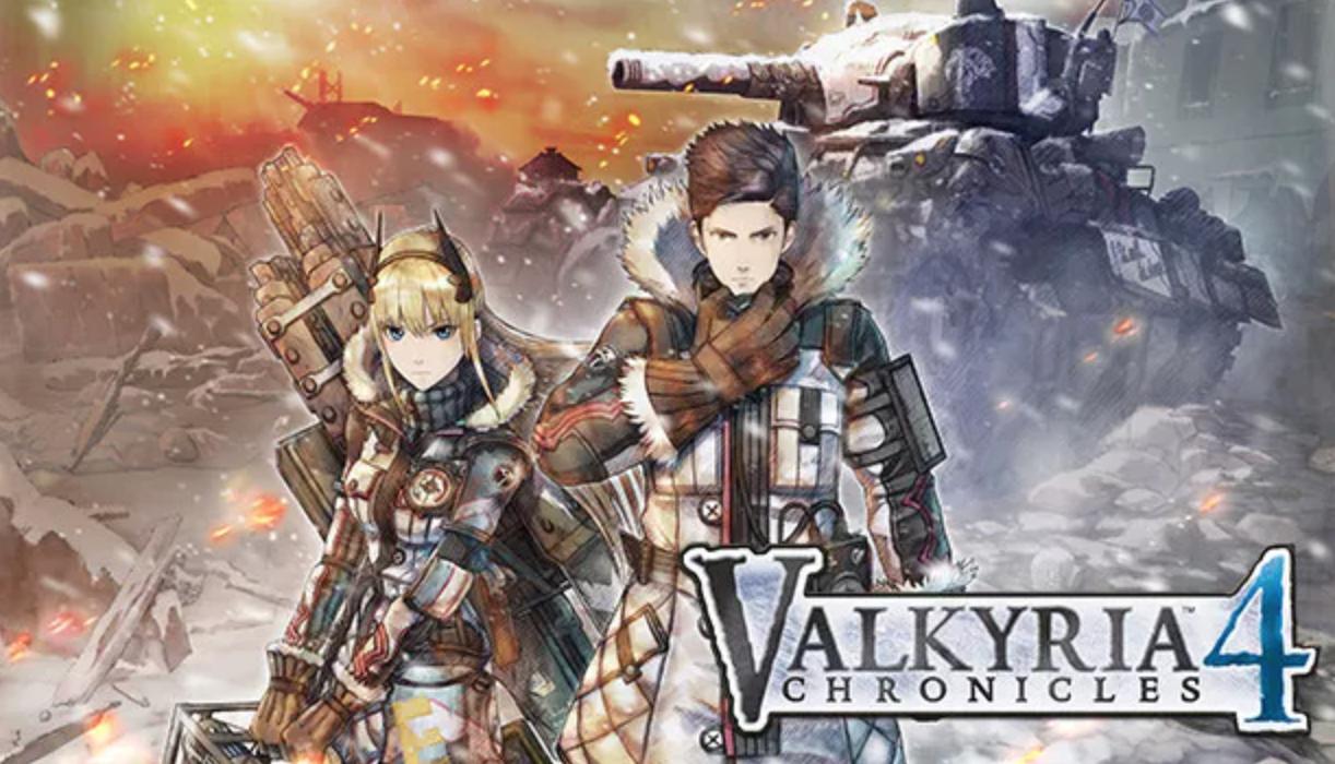 game anime valkyria chronicles 4