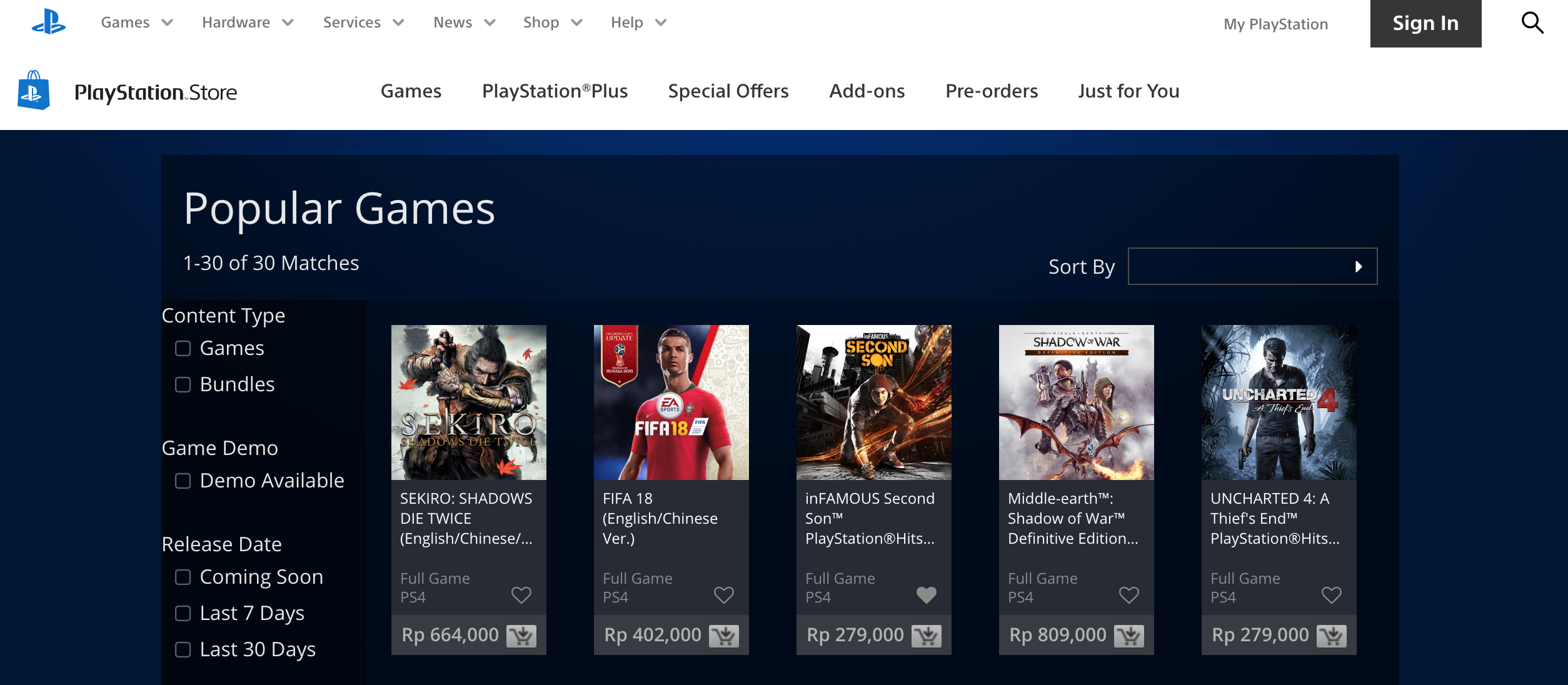 game ps store indonesia terbaru