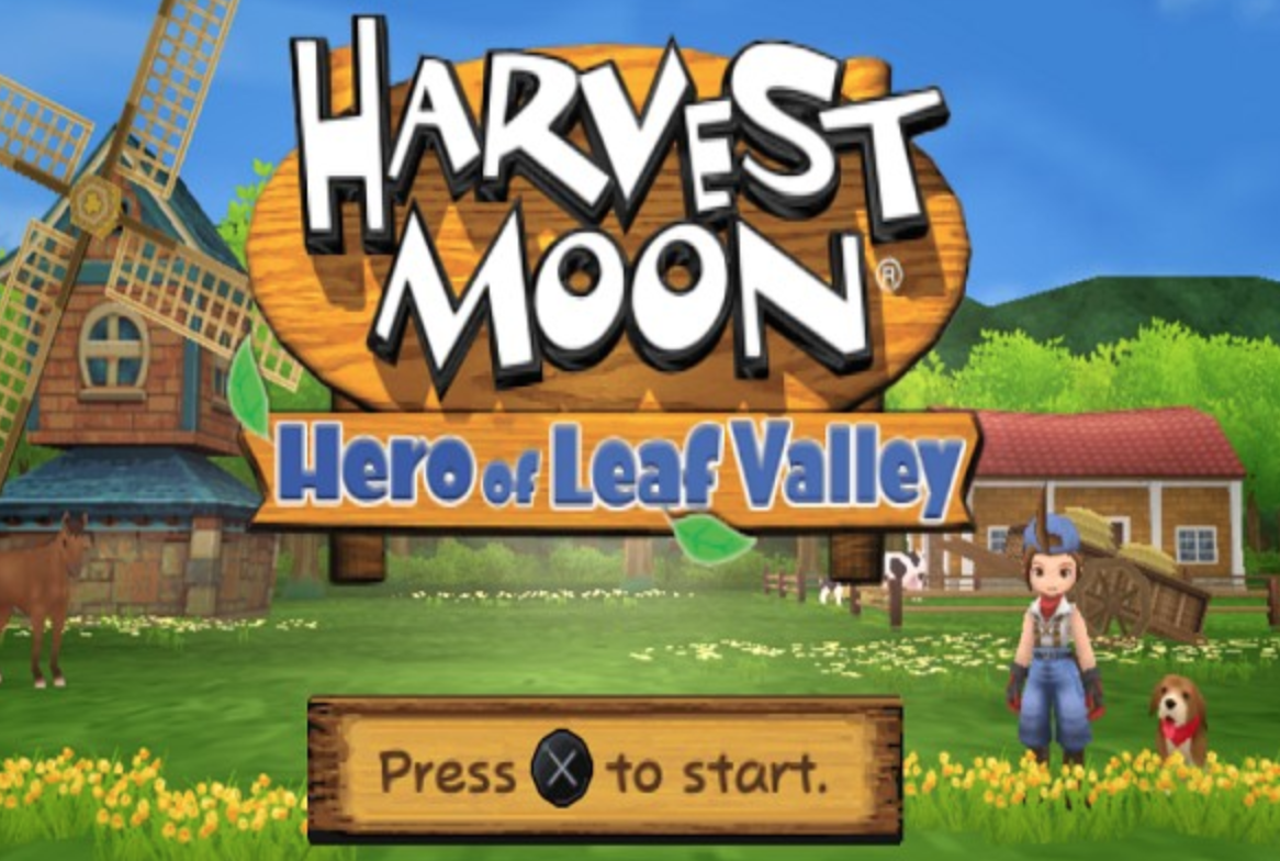 game psp terbaik harvest moon