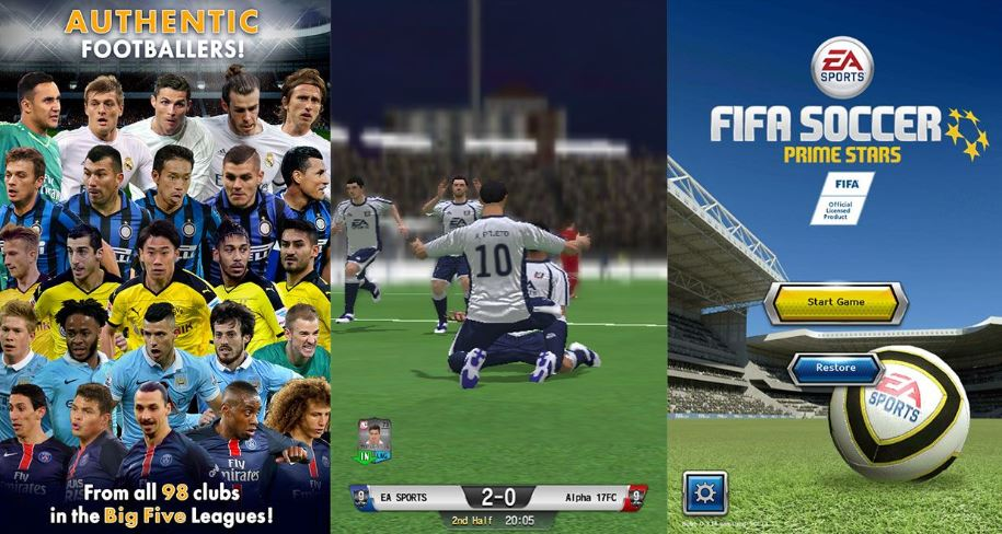 game sepak bola android fifa soccer