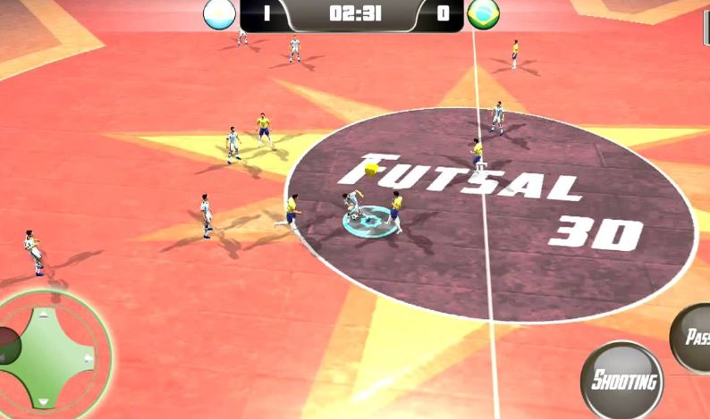 game sepak bola futsal football 2