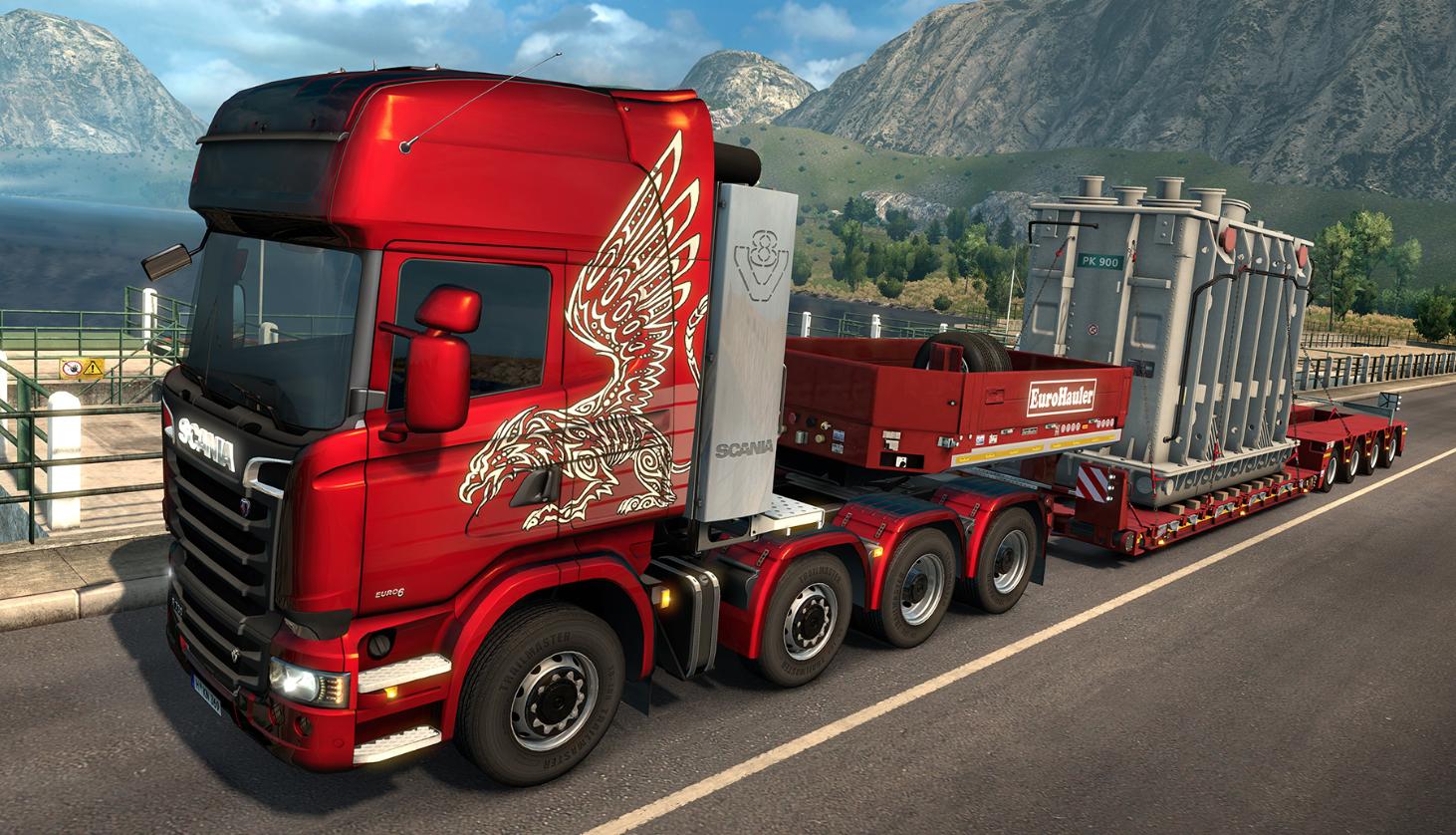 game simulator euro truck simulator 2
