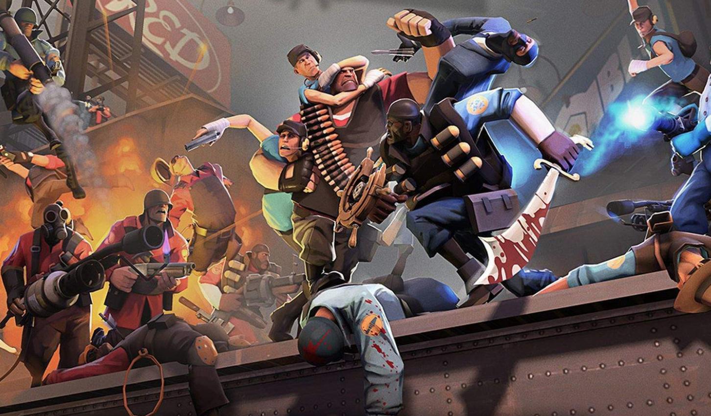 game steam gratis team fourtress 2