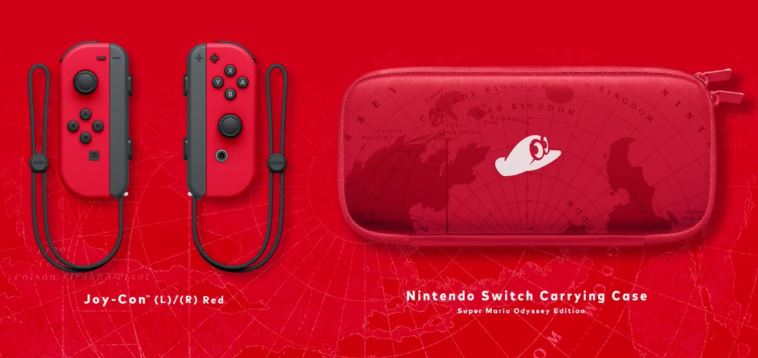 harga nintendo switch Super Mario Odyssey