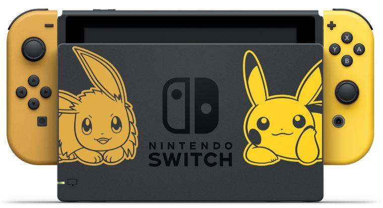 harga nintendo switch pikachu