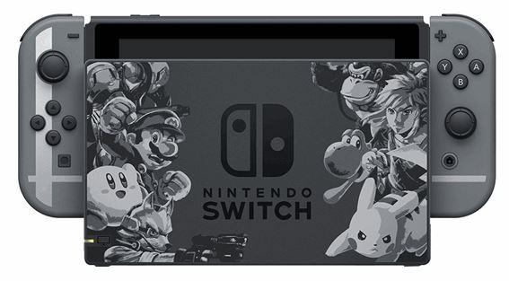 harga nintendo switch super smash bros
