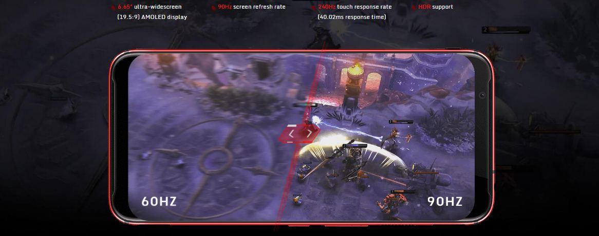 hp gaming android layar nubia red magic 3