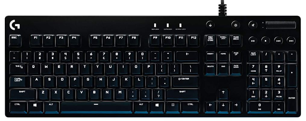 logitech G610 keyboard gaming