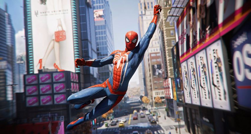 game marvel spiderman playstation 4
