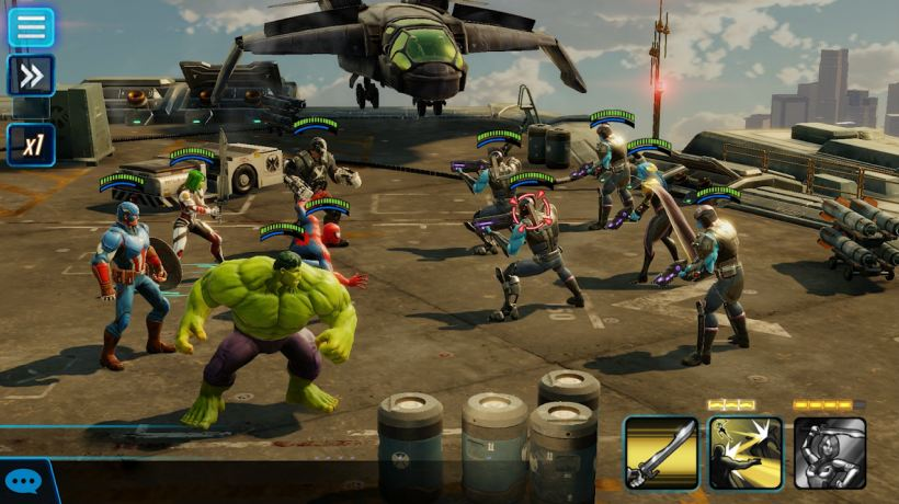 game marvel strike force