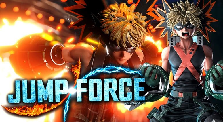 karakter game jump force