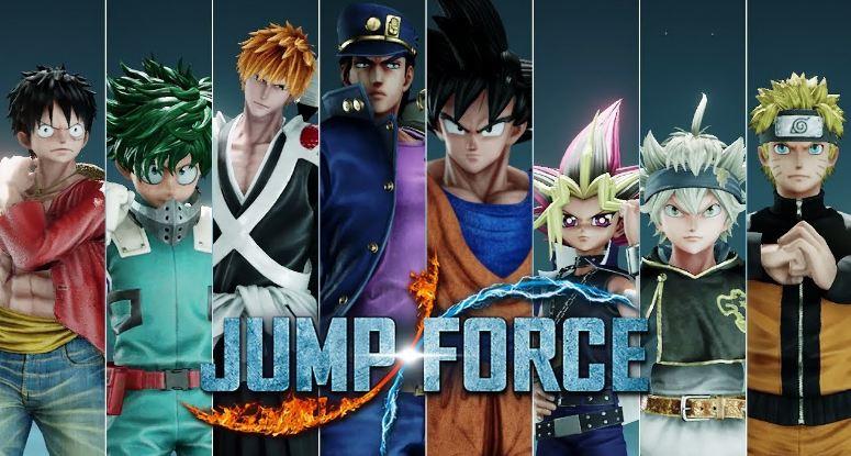karakter jump force terkuat