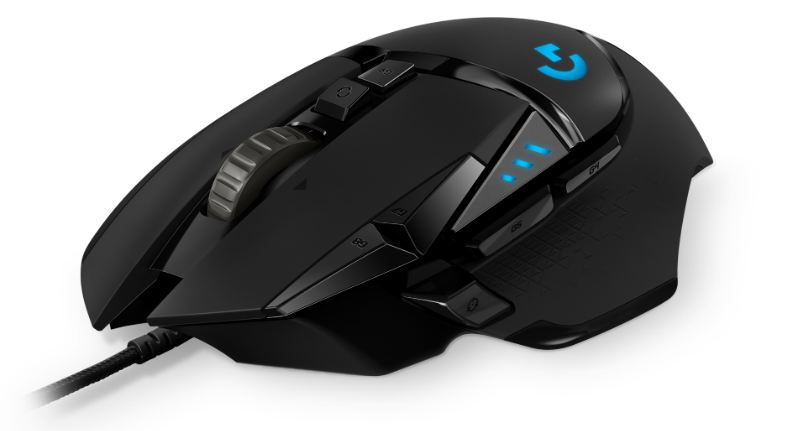 logitech g502 gaming mouse proteus spectrum