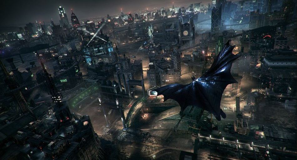review batman arkham knight open world