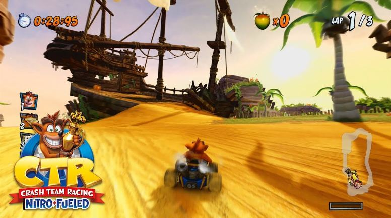 review crash team racing nitro fueled