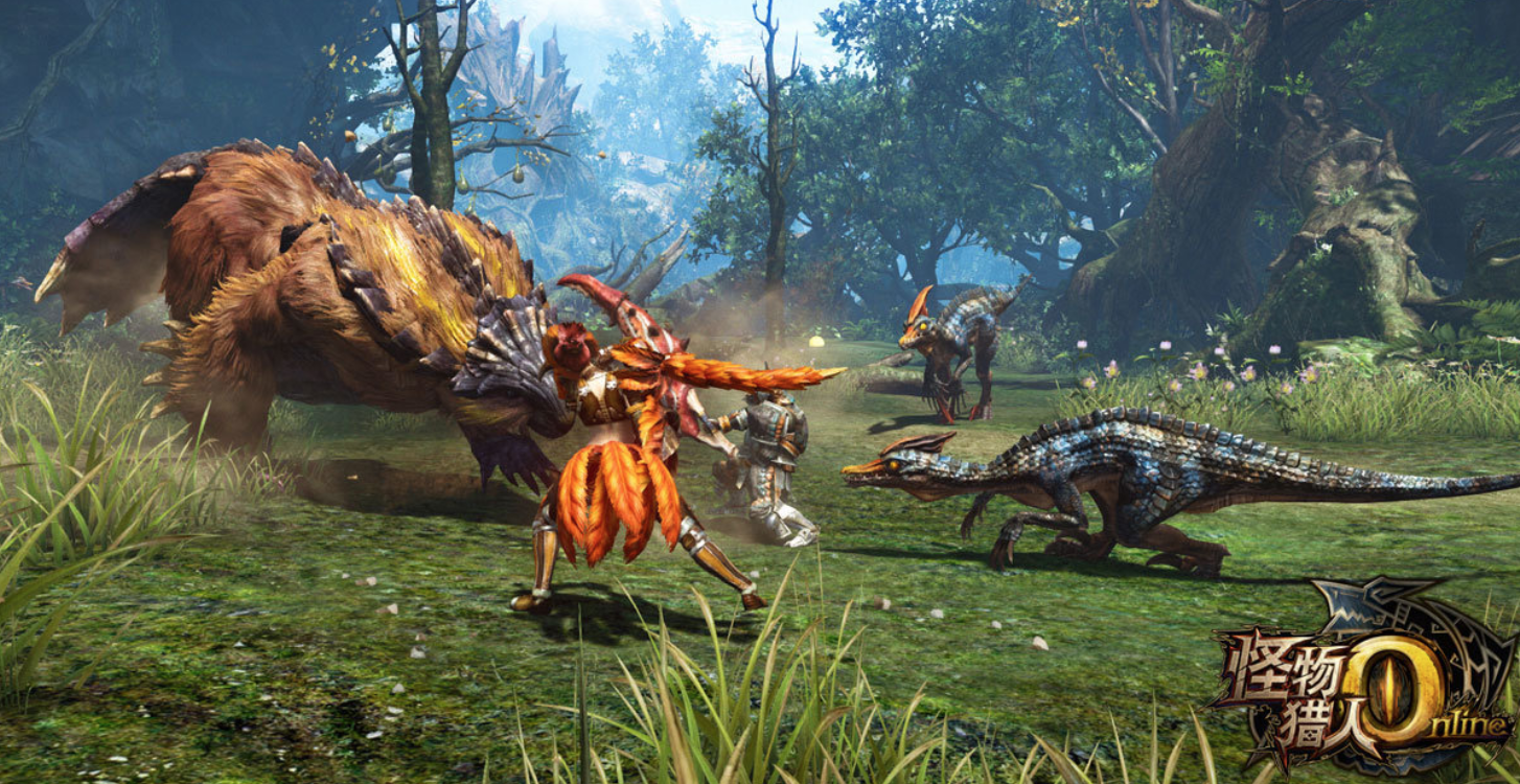 monster hunter online seru