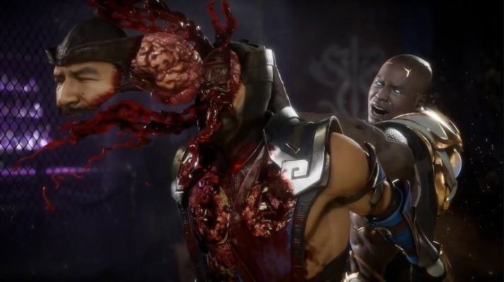 mortal kombat 11 fighting