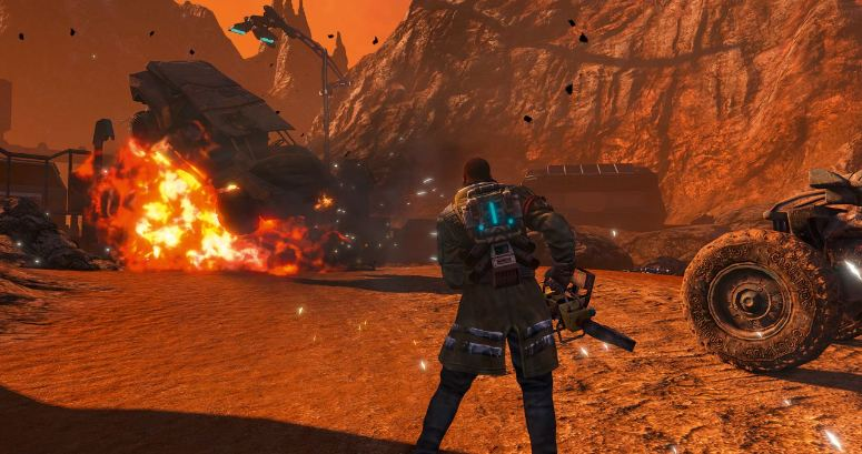 review game red faction guerilla nintendo switch