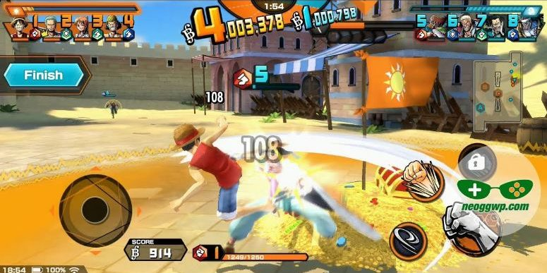 review one piece bounty rush android