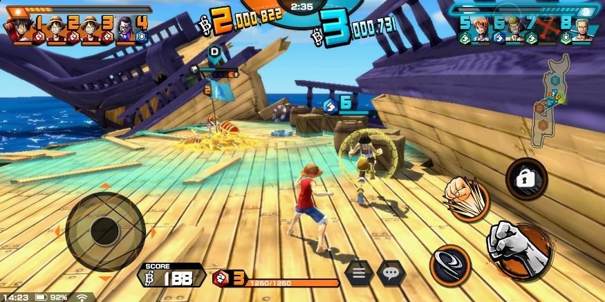 review one piece bounty rush ios