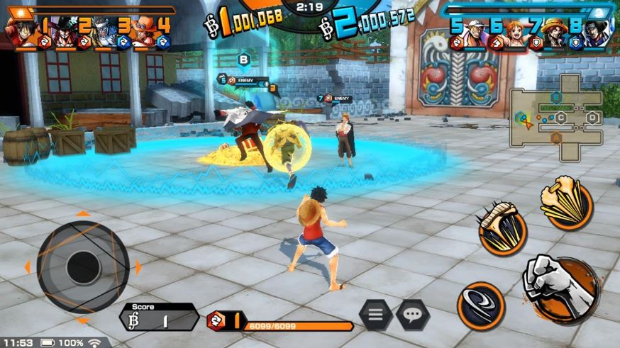 review one piece bounty rush