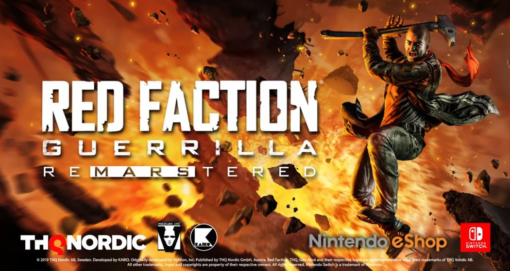 review red faction guerilla nintendo switch
