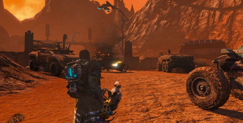 review red faction guerilla switch