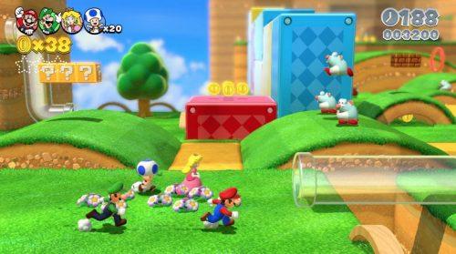 Desain dan Tampilan Super Mario 3D World Nintendo Wii U SOBATGAME