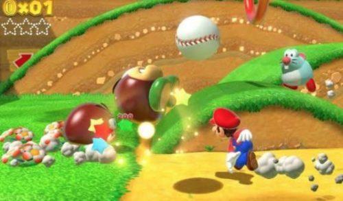 Gameplay Super Mario 3D World Nintendo Wii U SOBATGAME