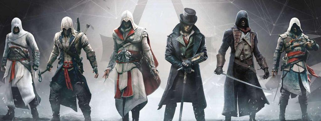 karakter game Assassins Creed SOBATGAME