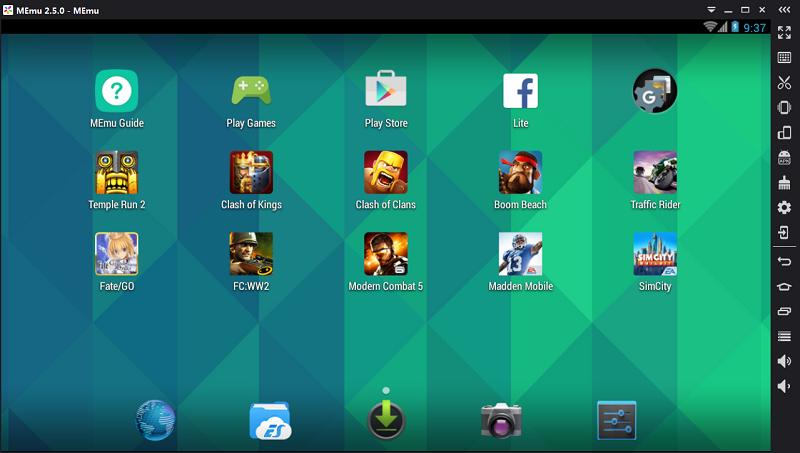 Emulator Android Ringan